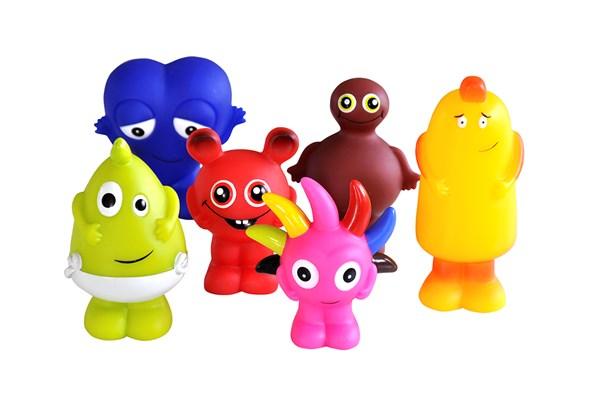 Plastfigurer 6-p, Babblarna
