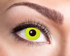 Färgade linser Yellow Crow Eyes