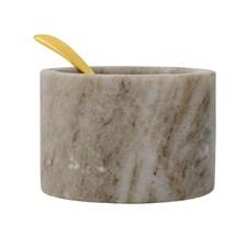 Bloomingville Suola-astia Lusikka Kullanvärinen 8 cm Marmori