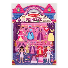 Prinsessor- Puffy Stickers, Melissa & Doug