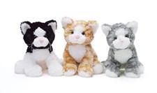 Teddy Cat, musta/valkoinen, Teddykompaniet
