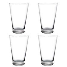 Modern House Pure & Simple Vattenglas 4-pack Klar