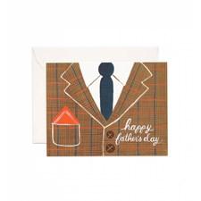 Gratulasjonskort Farsdag - Tweed Father's Day