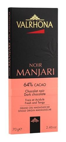 Valrhona Choklad Manjari 64% 70 g