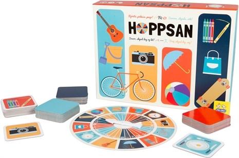 Hoppsan- Spel, Peliko