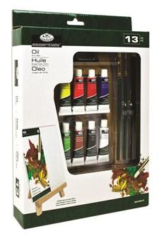 Oljemålning Set med A-ramsstaffli Royal & Langnickel