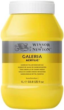 Galeria Akryl 1 liters 120 Cadmium Yellow Medium hue