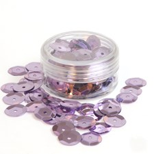 Sequin Bowl Lilac, 10 mm