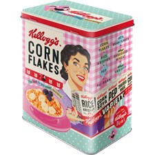 Peltipurkki Retro Kellogs Cornflakes