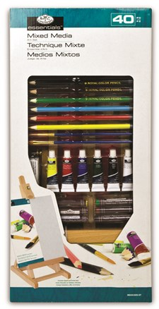 Pieni Essentials H-Easel -taiteilijasetti – Mixed Media, Royal & Langnickel