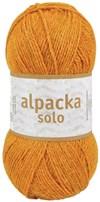 Alpacka Solo Ullgarn 50g Bärnstens gul (29123)