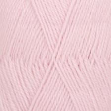 Drops Flora Uni Colour Garn Ullmix 50g Pink 21
