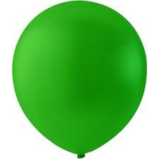 Ilmapallot, vihreä, halk. 23 cm, pyöreät, 10kpl
