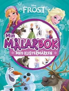 Disney Frost målarbok med klistermärken
