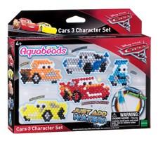 Autot 3 -hahmosetti, Cars 3, Aquabeads