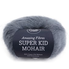 Adlibris Super Kid Mohair 25g Steel Blue A573