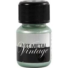 Art Metall maling, pearl grønn, 30ml