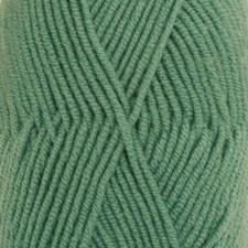 Drops, Merino Extra Fine Uni Colour, Garn, Ullgarn, 50 g, Skogsgrønn 31