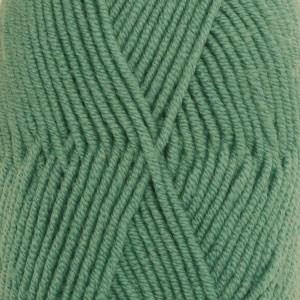 Drops Merino Extra Fine Uni Colour Garn Ullgarn 50g Forest Green 31