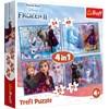 Journey into the Unknown, Frozen II, 4-i-1 Palapeli, Trefl