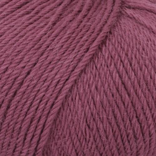 Drops, Puna Uni Colour, Garn, Alpakka, 50 g, Plomme 11