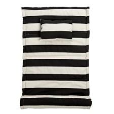 Rantamatto Musta Puuvilla 180X70 cm