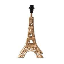 Lampfot Eiffeltornet, Guld, Rice