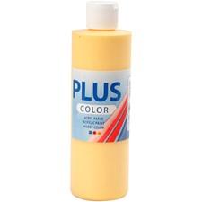 Plus Color-askartelumaali, 250 ml, krookuksen keltainen