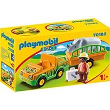 Djurparksfordon med noshörning, Playmobil (70182)