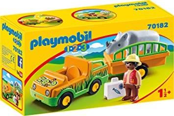 Djurparksfordon med noshörning  Playmobil (70182) - playmobil