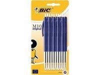 Kulepenn BIC M10 blister blå (10)