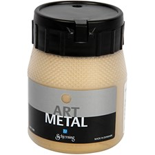 Art Metal metallimaali, 250 ml, vaalea kulta