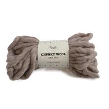 Adibris Chunky Wool Lanka Beige Melange 200g A044