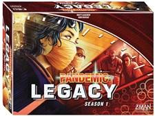 Pandemic Legacy, Red, Season 1, English version