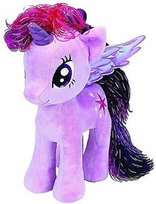Twilight Sparkle, Kosedyr, 23 cm, My Little Pony