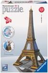 Eiffeltårnet, 3D-puslespill, 216 brikker, Ravensburger
