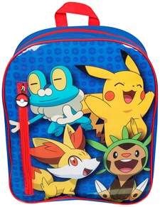 Filled Backpack Set, Pokemon