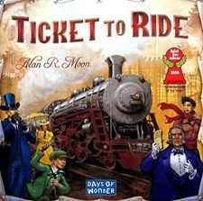 Ticket To Ride, USA, Brettspill