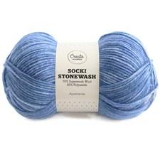 Adlibris Socki Stonewash 100g Aquamarine B118