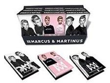 Muistikirja 8x12 cm, kovakantinen, Musta, Marcus & Martinus