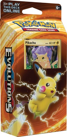 Poke XY12 Evolutions Theme Deck, Pikachu, Pokémon