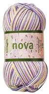 Nova 50gr Lilla/grå/gul print (48021)