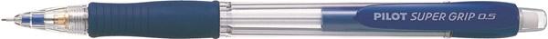 Stiftpenna Pilot H-185 Super Grip 0,5 mm Ljusblå