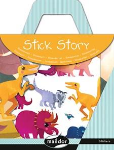 Pysselset Stick Story, Klistermärken, Dinosaurier