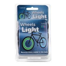 Wheels of Light LED-valo Pyörään Sininen