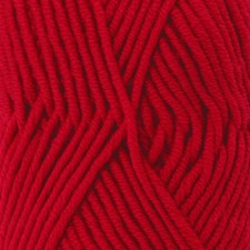 Drops Big Merino Uni Colour Garn Ullgarn 50g Red 18