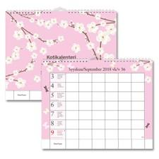 Seinäkalenteri 18/19 Kotikalenteri/Hemkalendern, FSC Mix