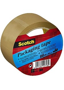 Packtejp Classic 50 mm x 66 m Brun