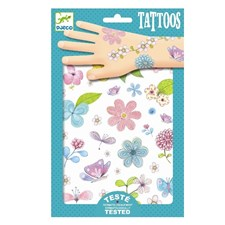Tatueringar med blommor och insekter, Djeco