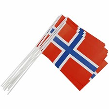 Liput, koko 20x25 cm, Norja, 10kpl